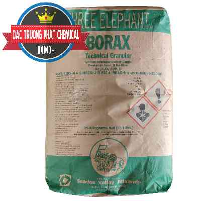 Borax Decahydrate NA2B4O7.10H2O Mỹ Three Elephant Usa
